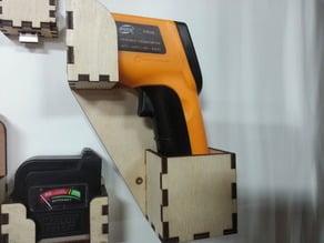 Laser Cut: GM320 IR thermometer holder