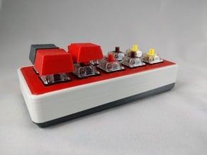 Macro keyboard case