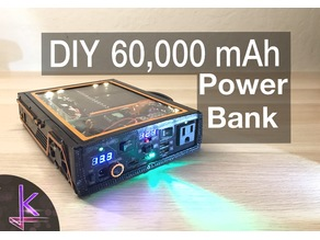 DIY 222Wh Powerbank