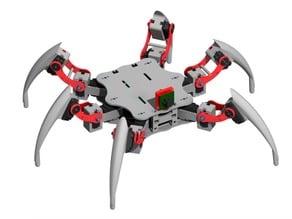 Antdroid, hexapod open source robot