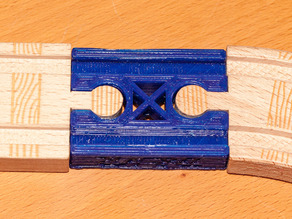 Wooden Train Track Compatible - Female to Female