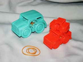 Rubber Band Powered Car Collection III (additional)