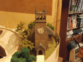 SCALEPRINT St Trinians Church part 2 tower external parts