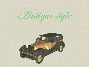Antique (Vintage) Style Car for #WeLoveCars Collection by whatakuai
