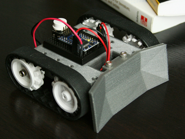 Sketchup mini sumo robot by bwevans thingiverse