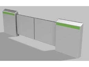 Yamanote Line Screen Door (JR East)