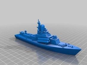 1/350 Nanuchka Missile Corvette