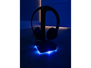 LED Gaming Headphone Stand and Light diffuser