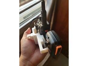 GoPro Mount Baofeng UV-5R Holder and Mic Slot