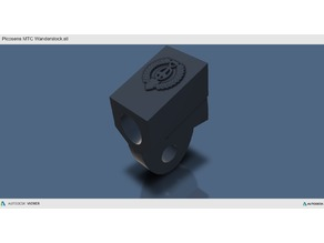 Picosens /Wanderstock Aufnahme /  Metalldetektor / Metaldetector