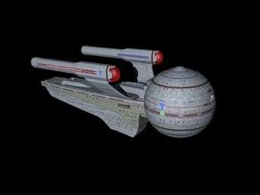 Star Trek - The Next Generation Olympic Class Hospital Ship