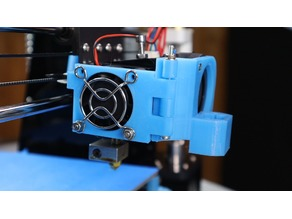 Remix Extruder Fan Modification V3 for 3D Touch