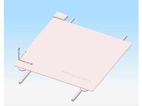Simplify3D Prusa i3 MK3 Bed File