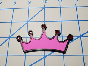 2D Princess Crown