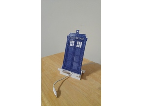 Dr. Who TARDIS phone/tablet stand