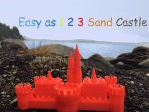 Easy as 1 2 3 Sand Castle/Mold
