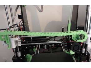 Anet A8 Cable Chain Custom