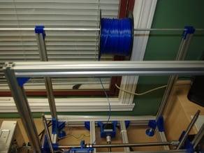 20 mm x 20 mm Aluminium Extrusion Spool Holder