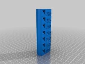 Temperature test - PLA Anet A6 A8 Version