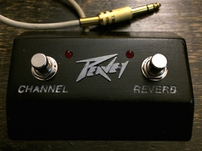Two Switch Amplifier Footswitch