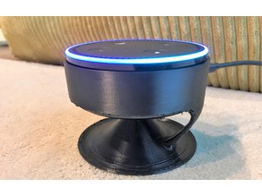 Floating echo dot Acoustic stand