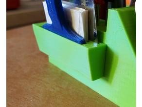 Astra razor blade stand