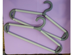 Coat hangers - adjustable