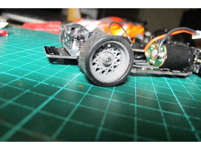 Hotwire Mag Wheel for 1\28 RC Car.