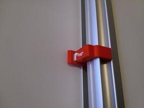 Child lock / Barnlås Elfa Classic slide door
