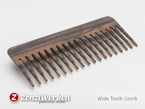 Wide Tooth Comb (cnc/laser)