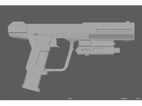 Silenced Pistol [Halo 3: ODST]