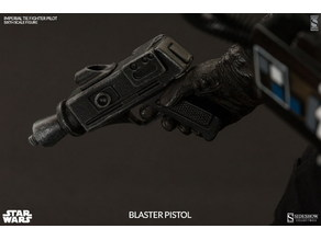Tie Pilot Blaster (Based on Sideshow's which is based on Kenner's 80's)