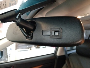 Auto-Dimming Rear-view Mirror Override (Electrochromic)
