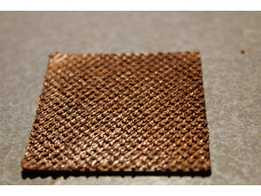 Knurled surface