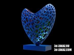 Open heart style Voronoi