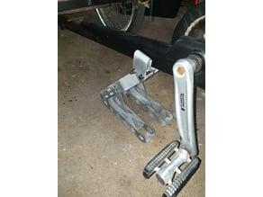 Repair stand for 3-wheels cargo bike