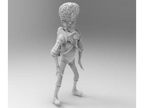 Martian (inspired by Mars Attacks!)