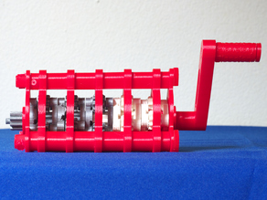 """1024:1 planetary gear set derived from """"Tiny Planetary Gears Set"""" by aubenc"""