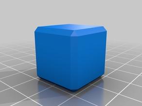 20mm Beveled Cube