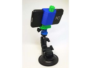 GoWORX freeride style universal smartphone holder gopro camera mount