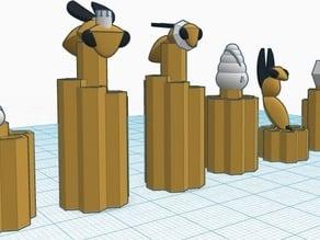 Honeycomb #chess Set