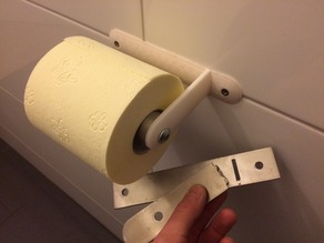 IKEA GRUNDTAL 200.478.98 Toilet roll holder Replacement