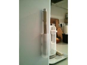 Fridge pen holder