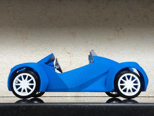 Local Motors Strati 3d Printed Car By Rogerpeng1