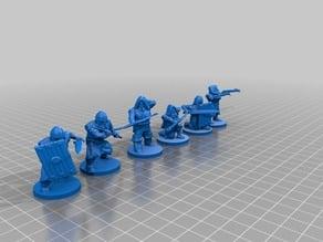 Duergar/dwarf raiding party