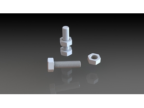 M8 Nut and Bolt