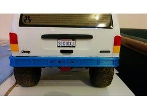 R/C CAR AXIAL SCX10 II (2) short rear BUMPER (AX31393 substitute)