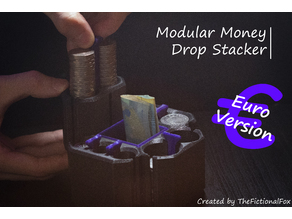 Modular Money Drop Stacker (EURO Version)