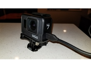GoPro Hero7 Black Side Door Splashproof Waterproof Charging