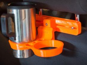 Cup holder for car headrest